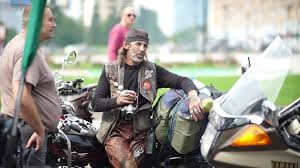 motorcycle waistcoat russia novosibirsk 2016 moto bikers festival siberian