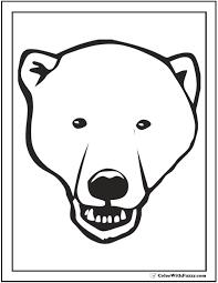 brown bear brown bear bear face coloring coloring