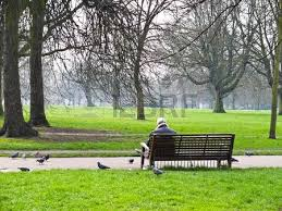 Old Park Benches Two Old Park Benches On White Ground Stock Photo Picture And