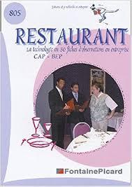 technologie cuisine cap restaurant cap bep la technologie de restaurant dans l
