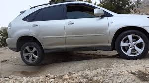lexus jeep rs 300 lexus rx 330 2005 off road youtube