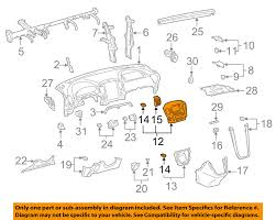 lexus rx300 exhaust diagram lexus toyota oem rx300 instrument panel dash center bezel trim