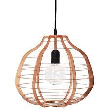 hk living hanging lamp lab xl metal copper 36x36x32cm