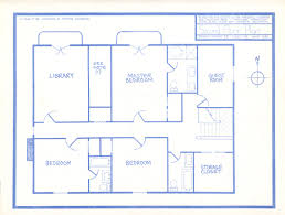 blueprint of house simple architecture blueprints