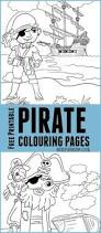 pirate colouring pages for kids free printables free and pirate