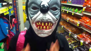 9 15 2017 trying on halloween masks youtube