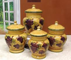 yellow canister sets kitchen pottery kitchen canister sets 100 images 3 crock canister set