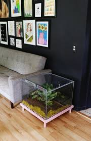 complete living room decor furniture unique terrarium coffee table design ideas clear
