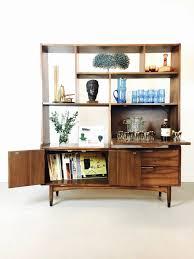 sold mid century danish modern modular wall unit with mid century