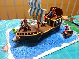 Children S Birthday Cakes Jake And The Neverland Pirate Cake U2014 Childrens Birthday Cakes