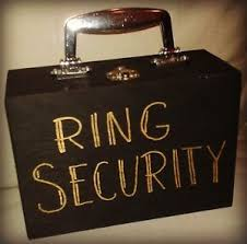 ring security wedding ring bearer security briefcase pillow alternative for wedding
