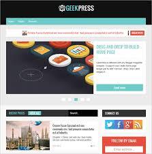 professional blog templates free u0026 premium themes creative template