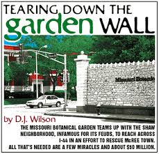 tearing down the garden wall feature st louis news and events
