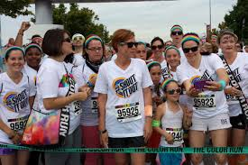 How To Wash Off Color Run - getting my color on with team shout