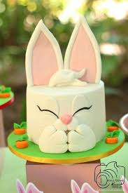 Edible Easter Cake Decorations by Best 25 Rabbit Cake Ideas On Pinterest Easter Cake Easter