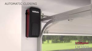 liftmaster jackshaft garage door opener lm3800tx garage door opener youtube