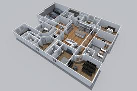 3d model floor plan shavano highlands