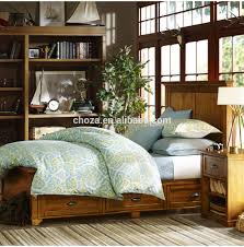 Double Bad Design Furniture Wooden Double Bed With Drawers Wooden Double Bed With Drawers
