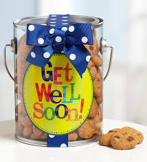 get well soon cookies well soon chocolate chip cookies in a can