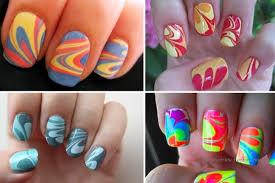 40 creative water marble nail art designs nail design ideaz