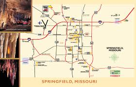 Springfield Map Fantastic Caverns America U0027s Only Ride Thru Cave Springfield