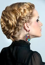 Frisuren Mittellange Haare Geflochten by Festliche Frisuren Lange Haare Flechten Hochsteckfrisuren