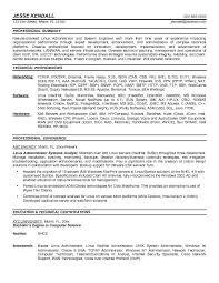 Network Administrator Skills Resume Administrator Resume Sle 28 Images Network Systems