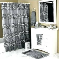 Bathroom Window And Shower Curtain Sets Shower Curtain Sets Kulfoldimunka Club