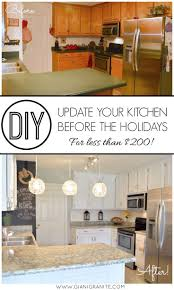 36 best diy marble images on pinterest countertop paint kitchen makeover your kitchen in time for the upcoming holiday gatherings update your cabinets countertops