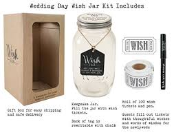 wedding wish jar top shelf wedding wish jar kit comes with tickets decorative