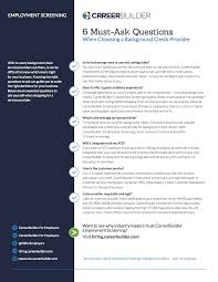 career builder resume search 2017 candidate experience study careerbuilder for employers 6 essential questions for your background check provider