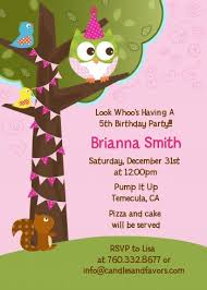 owl birthday party owl birthday girl birthday party invitations candles and favors