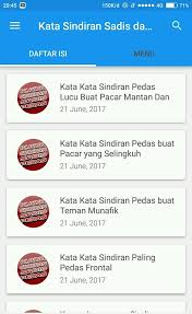 kata sindiran sadis pedas android apps on play