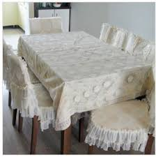 Dining Table Chair Cover Fabric Lace Table Cloth Chair Covers Nsutite Dining Table