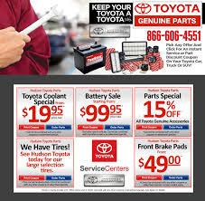 toyota offers hudson toyota service center serving jersey city nj new used