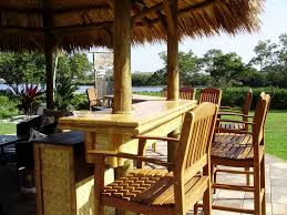 Mexican Thatch Roofing by 20 U0027 Permanent Tiki Hut Gazebo Style With A Palm Thatch Roof And A