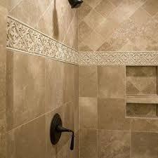 Bathroom Border Tiles Ideas For Bathrooms Travertine Border Tile Foter