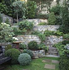 Tiered Backyard Landscaping Ideas This Tiered Retainingwall Multi Level Landscaping