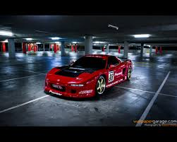 japanese sports cars cars japanese honda red garage sport speed racer desktop