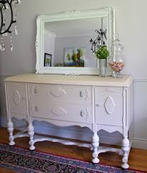 Antique White Sideboard Buffet by Antique Sideboard Buffet Painted Peach Chalk Paint The Painted