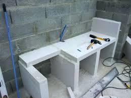cuisine en siporex cuisine exterieure beton vu cuisine exterieure beton cire