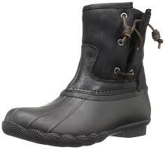 sperry top sider women u0027s saltwater pearl seasonal rain boot you