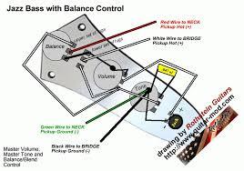 fender jazz wiring diagram fender noiseless jazz bass for j