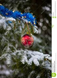 tinsel on the christmas tree christmas lights decoration