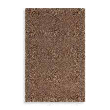 mohawk home kodiak rectangle shag rug in hazel gold bed bath