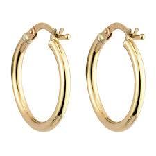 9ct gold hoop earrings 9ct gold small hoop earrings