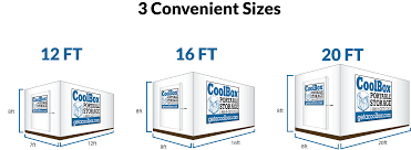 cool box storage containers rent portable storage containers
