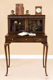 Secretary Desks For Small Spaces by Antique Solid Wood Secretary Desk Laurel Crown