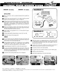power window switch kit power windows