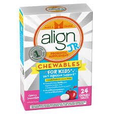 align jr probiotic supplement for kids 24ct cherry chewables